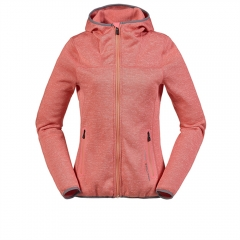 Womens Full Zip Fleece Hoodie