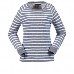 Womens Yarn Dye Stripe Top