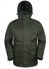 Mens Long Waterproof Jacket