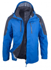 Mens 3 in 1 Waterproof Jacket