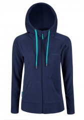 Women Full Zip Fleece Hoodie
