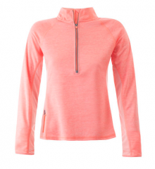 Womens Half Zip Active Top