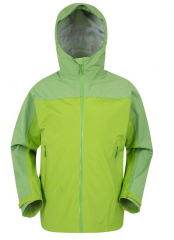 Mens Rain Jacket Made with Recycled Polyester